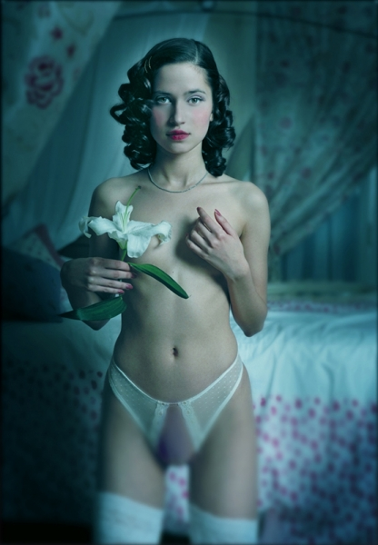 Snow White Boudoir by Your Hollywood Portrait