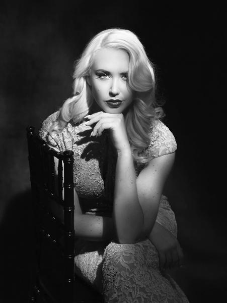 Singer Vintage Portrait by Your Hollywood Portrait
