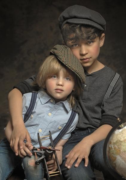 Vintage Children Portrait