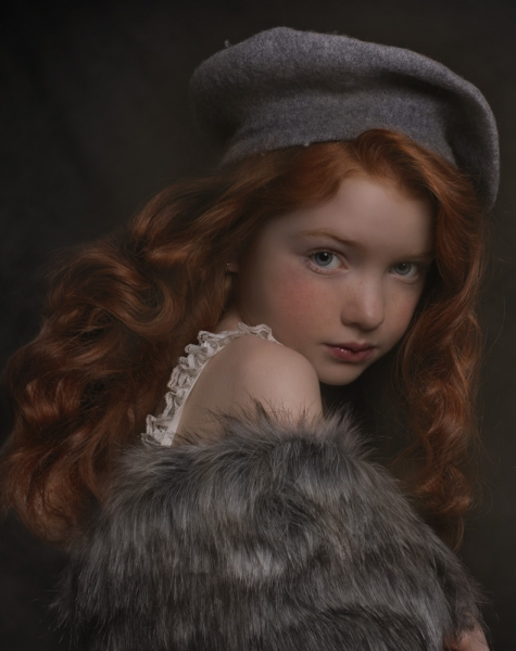Fine Art Girl Portrait