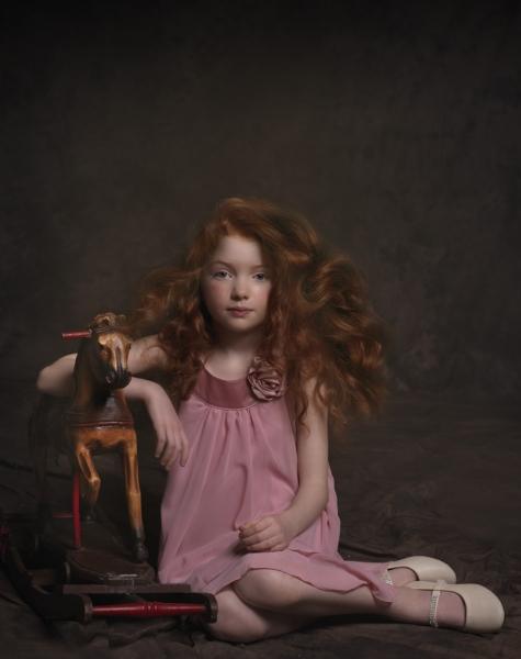 Beautiful Fine Art Kids Portrait