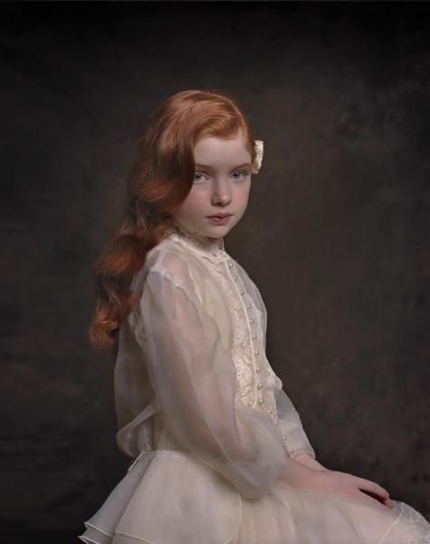 Beautiful Fine Art Girl Portrait