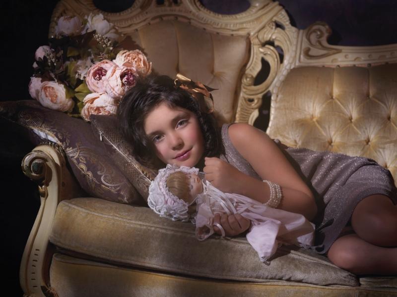 Child Portrait Vintage