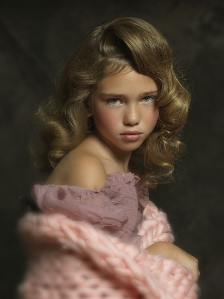 Vintage Kids Portrait